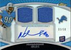 Ndamukong Suh 2010 Topps Finest RC Auto 2-Jersey # 50 Dolphins Lions FREE SHIP