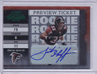 2003 Leaf Limited Contenders Preview Autographs #192 Justin Griffith 08 10 Auto