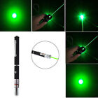 1mW 532nm Green Laser Pointer Pen Beam Light Mid-open AAA 3A