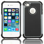 Silicone Robot Executive Armor Shock Proof Case Cover Skin for iPhone 4 4S Grey