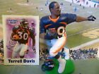2000  TERRELL DAVIS - Starting Lineup -SLU - Loose With Card - Denver Broncos