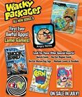 2012 WACKY PACKAGES SERIES ANS 9 SEALED HOBBY BOX 24 PKS SKETCH GOLDS CARDS