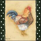 Art Print Framed or Plaque by Sydney Wright Proud Rooster SYD110 R