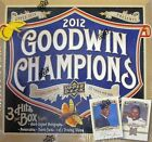 2012 Upper Deck Goodwin Champions Baseball Factory Sealed Hobby Box -3 Hits a Bx