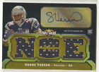 Shane Vereen 2011 Triple Threads RC Auto 4-Jersey # 25 Patriots FREE SHIP
