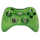 New Wireless Controller Case Shell Cover for XBox 360 Plating Green