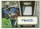 2010 Topps Unrivaled Damian Williams 2 Color Patch Auto Autograph #ed. 349