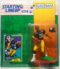 1994 BARRY FOSTER - Starting Lineup Football Figure & Card - PITTSBURGH STEELERS