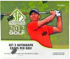 2012 Upper Deck SP Authentic Golf 12 Box Factory Sealed Hobby Case - 36 Autos