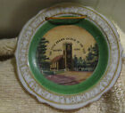The Little Brown Church in the Vale Nashua Iowa Glass Miniature Plate