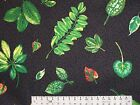 6.75 YARDS PRETTY FLORAL SHARON KESSLER DESIGN FOR CONCORD FABRICS COTTON 54WIDE