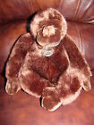 Platinum Plush Dark Brown Monkey Gorilla Ape Plush Doll 10