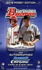 2012 Bowman Baseball Hobby Case - 12 Box Factory Sealed Hobby Case - 12 Autos