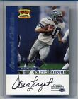 1999 Fleer Sports Illustrated Steve Largent Greats of the Game Autograph Card