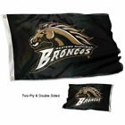 Western Michigan Broncos Banner Flag WMU Double Sided
