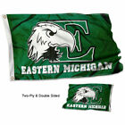Eastern Michigan Banner Flag EMU Double Sided