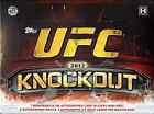 2012 Topps UFC Knockout 4 Box Factory Sealed Hobby Case - 32 Hits Per Case.