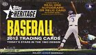 2012 Topps Heritage Baseball Factory Sealed Hobby Box - 1963 Topps Design