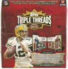 2012 Topps Triple Threads Football 9 Box Factory Sealed Hobby Case