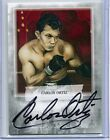 2010 Ringside Boxing Carlos Ortiz On Card Autograph 60 - Round One Auto - ACO2