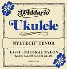DAddario EJ88T Nyltech Tenor Ukulele Strings Natural NylonFree US Ship Uke