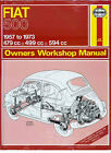 FIAT 500 SHOP MANUAL REPAIR BOOK SERVICE HAYNES ABARTH TOPOLINO NUOVA 500D PUCH