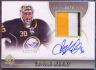 2010-11 SP AUTHENTIC LIMITED RYAN MILLER AUTO PATCH 33 100 GAME USED