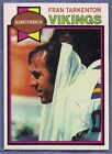 Top 10 Fran Tarkenton Football Cards 14