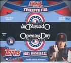 2011 TOPPS OPENING DAY BASEBALL BOX