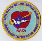 NASA HCTIS 1990 SHUTTLE SATELLITE Mission USAF ORIGINAL SPACE PATCH