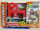 Matchbox CLIFF HANGER FIRE STATION Table Top or Over the Edge Play Set Ages 3+