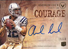 2012 TOPPS VALOR FOOTBALL ANDREW LUCK AUTOGRAPH ROOKIE COURAGE CARD 29 70