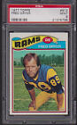 1977 Topps #513 FRED DRYER PSA 9 MINT Los Angeles RAMS