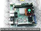 Intel Mini ITX Motherboard Core 2 Duo CPU 16GHz 1GB Dual LAN pfsense monowall