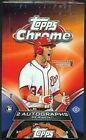 TOPPS CHROME 2012 SEALED BASEBALL HOBBY BOX - Free Shipping