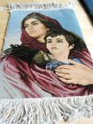 MASTERPIECE RARE SIGNED PERSIAN PICTORIAL ISFAHAN  HAND KNOTTED KORK WOOL RUG