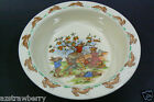 Vintage Royal Doulton England BUNNYKINS Child Baby Cereal Bowl Bunny Apple tree