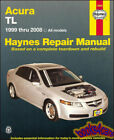 SHOP MANUAL TL SERVICE REPAIR ACURA BOOK HAYNES CHILTON OWNERS WORKSHOP