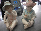 Vintage Ceramic Victorian Boy & Girl  Andrea by Sadek Piano Babies