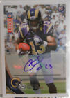 2012 Topps Kickoff Chris Givens SP Autograph Auto Rookie Card # 84 160