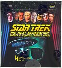Star Trek The Next Generation Heroes and Villains Box Factory Sealed RITTENHOUSE