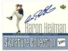 2002 Upper Deck UD Minor Leaque Aaron Heilman Signature Auto Autograph Card