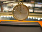 VINTAGE OMEGA SWISS POCKET WATCH PRE OWNED 14 KARAT YELLOW GOLD MECHANICAL WOW