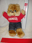 Retro Advertising Shoney Restaurant's Shoney The Stuffed Plush Bear Animal Toy
