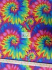 ASSORTED PRINT POLAR FLEECE FABRIC Tie Dye 60 WIDTH SOLD BY THE YARD 585