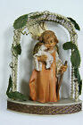 Italy Fontanini Simonetti Cherub Angel holding Lamb Ornament  Hanging Holiday NW