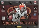2012 Crown Royale Factory Sealed Football Hobby Box Luck & Wilson RC's ?