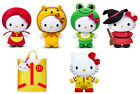 Hello Kitty Fairy Tales plush Dolls, Set of 5 , 2012 ,by China Mcdonald's