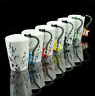 6 Choices Guitar Electric Bass Music Note Coffee Cup Mug Red Yellow Black Blue