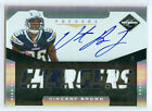 2011 Limited Vincent Brown Auto 2 Color Jersey Patch Rc Serial # to 299